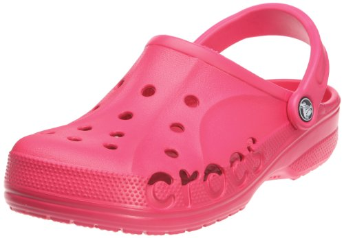 crocs Unisex Baya Clog, Raspberry, 5 M (D) US Men / 7 M (B) US Women