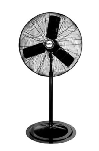 (Air King 9135 30-Inch Industrial Grade Oscillating Pedestal Fan, 1/4-Horsepower, Black Finish)