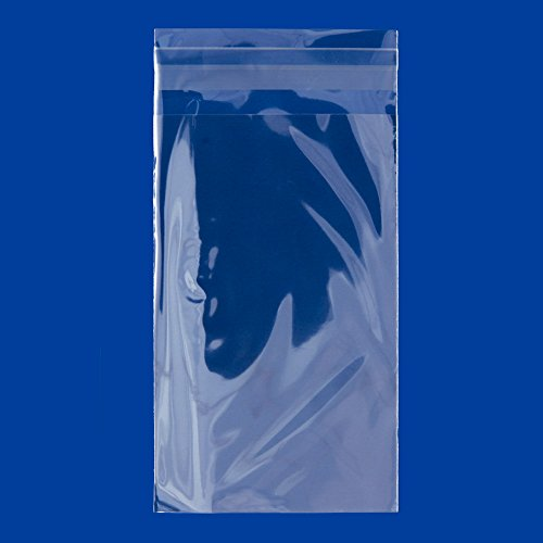 Resealable Polypropylene Bags 4x6 (OPP Bags) (Package of 100) ()
