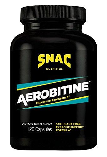 SNAC Aerobitine Stimulant Free Pre-Workout Formula for Maximum Endurance, 120 Capsules Review