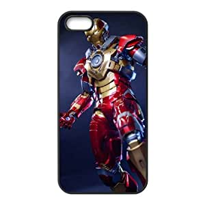 Hardshell Protective Iron Man cover case For iPhone 5, 5S QW4G3138