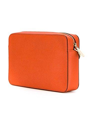 Michael By Michael Kors Mujer 32S4GTVC3L800 Naranja Cuero Bolso De Hombro