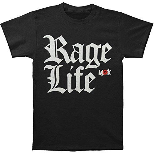 Machine Gun Kelly (Music) Men's Rage Life T-shirt Small Black