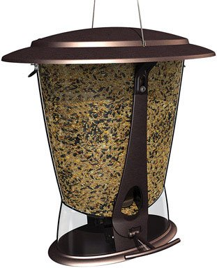 picture of More Birds X-2, Squirrel Proof Feeder, 2 Feeding Ports, 4-Pound Capacity