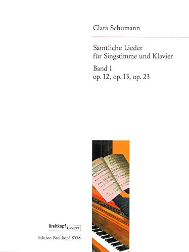 Complete Songs, Vol.1 - op.12, 13, 23 - Breitkopf Urtext - voice and piano - (EB -
