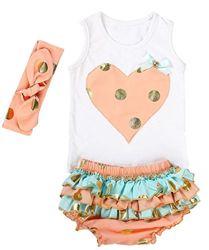 messy-code-lovely-design-posh-gold-polka-dots-baby-girls-outfitsx-small-0-6monthspeach-and-mint