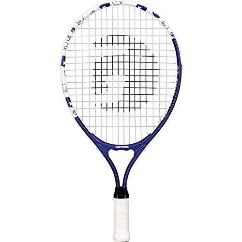 Gamma Sports Junior Tennis Racquet: Quick Kids 19 Inch Tennis Racket – Prestrung Youth Tennis Racquets for Boys and Girls – 93 Inch Head Size – Blue