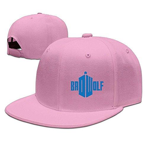 [Runy Custom BAD WOLF FOTOLLISTAT Adjustable Baseball Hat & Cap Pink] (City Mouse Costume)