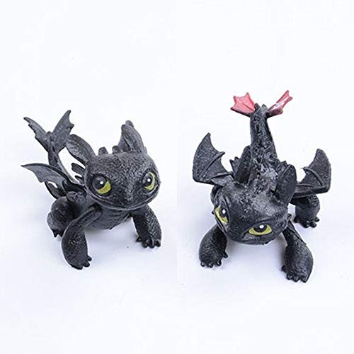 (My Dinner Animal Toys Dragon 2 Action & Toy Figures How to Train Your Dragon 2 Toothless NightFury Action Figures)
