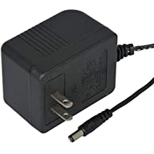 AC to AC Wall Adapter Linear Transformer 16 VAC @ 1000mA Black Straight 2.1mm Female Plug