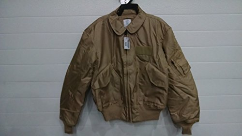 Nomex Flyer's Jacket Mil. Issue CWU-45/P New Tan XL USA made