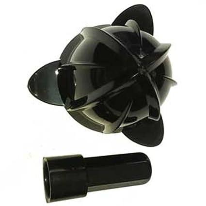 Lacor R69285A Juego de Cono y Inserto de Repuesto para Exprimidor con Brazo, Negro,