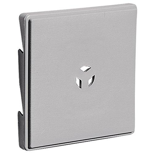 Builders Edge 130110007016 Surface Block Gray