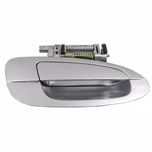 Sentinel Parts 02-06 Nissan Altima Front Right Passenger Side Outside Exterior Door Handle KY1 Light Silver Metallic