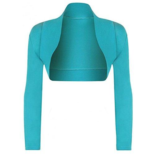 Janisramone Ladies Womens Sleeve Cardigan