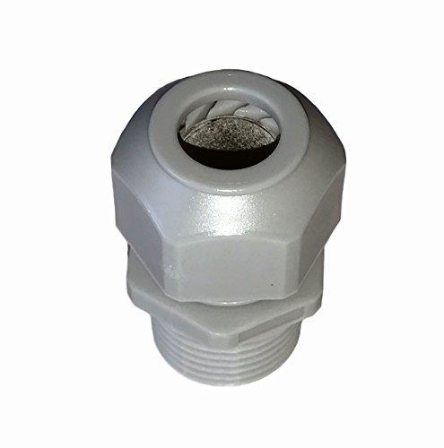 Liquid Tight Cord Grip - Liquid Tight Strain Relief Cord Grip - 1/2 Inch NPT Thread, w/1 Round Hole for 0.170