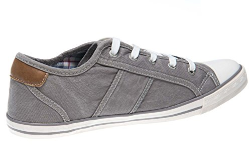 Mustang 1099-302-55, Chaussons Sneaker Femme Gris