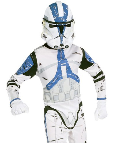 Star Wars Child's Clone Trooper Costume, Small (4 - 6) -