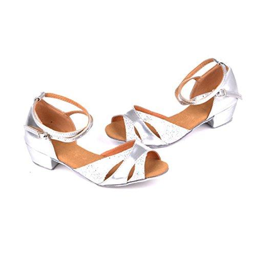 Silver Tango 30 Dance 5CM Danse Latine Danse 3 Femmes Chaussures YFF Cadeaux Dance q70HqAP