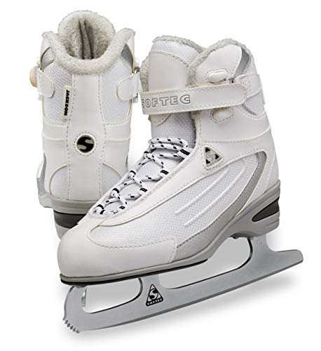 Jackson Ultima Softec Classic ST2300 Womens and Girls Figure Ice Skates - White, Size 10