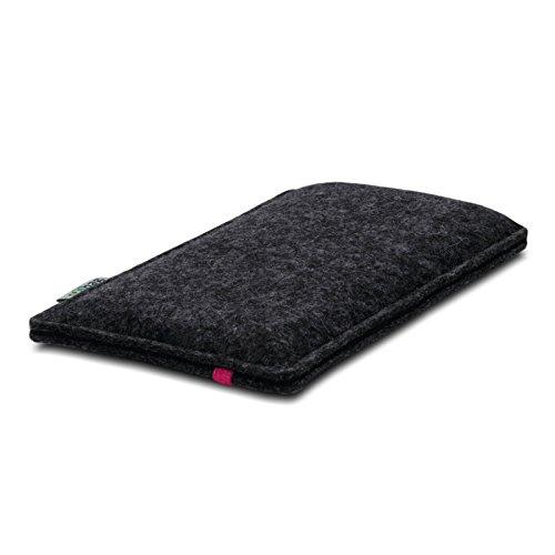 Stilbag Etui Feutre 'LEON' pour Apple iPhone 3Gs - Couleur: pink-anthracite