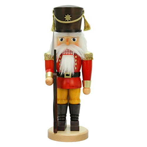 Christian Ulbricht Red Soldier with Rifle Nutcracker