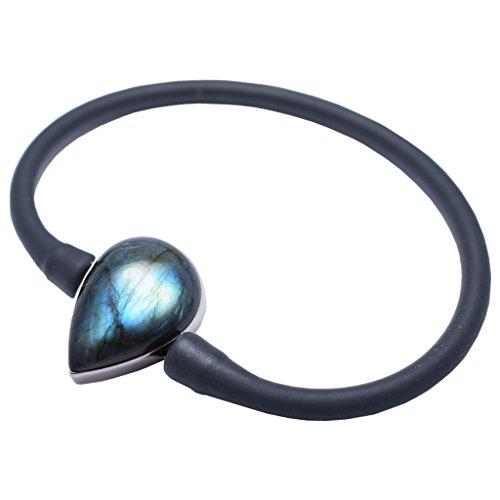 Starborn Creations Labradorite Stone Bracelet by Stones Desire by Starborn Creations