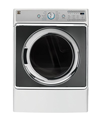 Kenmore Elite 81962 9.0 cu. ft. Front Control Electric Dryer with Accela Steam in White, includes delivery and hookup