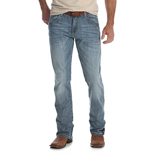Wrangler Men's Retro Slim Fit Boot Cut Jeans, Greeley, 31X30 for $<!--$54.95-->