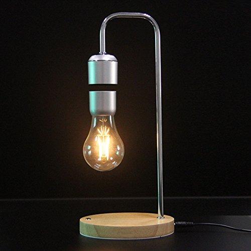 VGAzer Magnetic Levitating Floating Wireless LED Bulb for Desk Lamp,Unique Gifts,Room Decor,Night Light