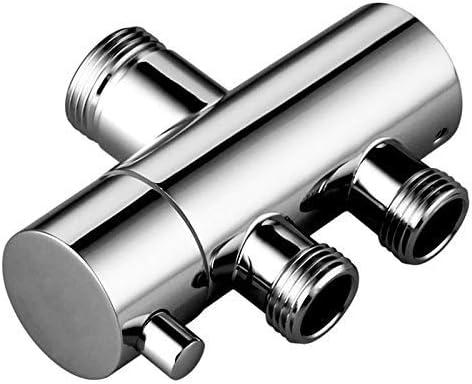 SSY-YU シャワーミキサー真鍮ボディクロムメッキのための蛇口ダイバー3ウェイシャワーアームダイバー2つの機能蛇口のバルブをシャワー ボールバルブ