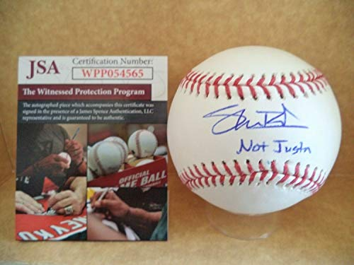 Shane Bieber Cleveland Indians Not Justin Autographed Signed Memorabilia Ml Baseball - JSA Authentic