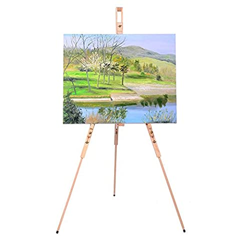 Mont Marte Artists Tripod Easel - Wood Tripod Stand
