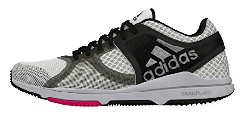 Adidas Dames Crazymove Cf W, Wit / Zwart, 6.5 Us