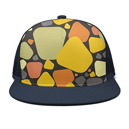 (HASIDHDNAC Colored Marbles marbling Fitted caps for Unisex)