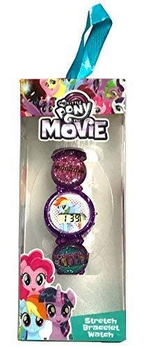 My Litttle Pony The Movie Stretch Bracelet LCD Watch