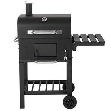 Broil-master BBQ Smoker Barbacoa/Parrilla de carbón, Apta para carbón, Madera