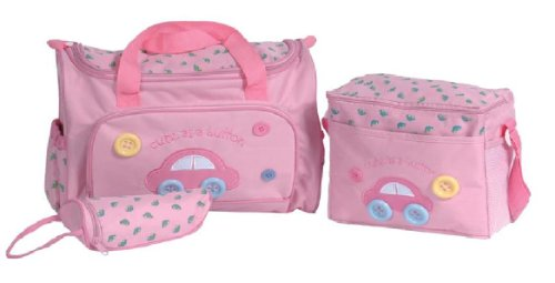 Baby Kingdom Baby Kingdom Baby Changing Bag Changing Mat Bottle Bag
