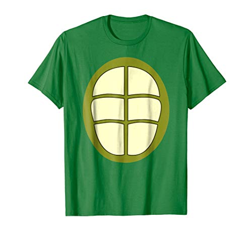 Turtle Halloween Costume T-Shirt 2-Sided Turtle Shell Shirt