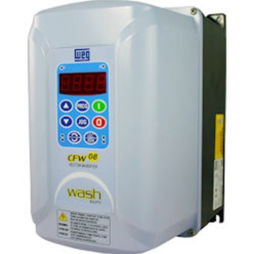 WEG CFW080160TDN4A1Z CFW08 Series Variable Frequency Drive, 5 HP, 16 A, 230 V, 3 Phase Input, 3 Phase Output by WEG