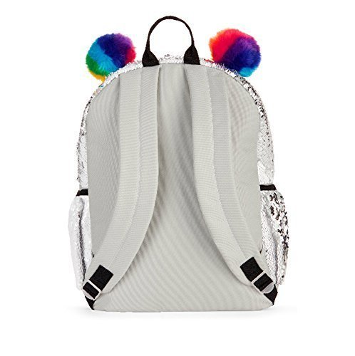 "Amazon.com: UPD 16"" Full Size Wonder Nation Panda 2 Way Sequin Critter School Backpack Kids: Toys & Games"
