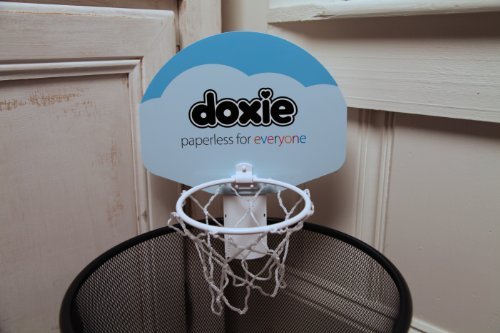 Doxieball basketball trash can game - Basketball waste paper basket ...