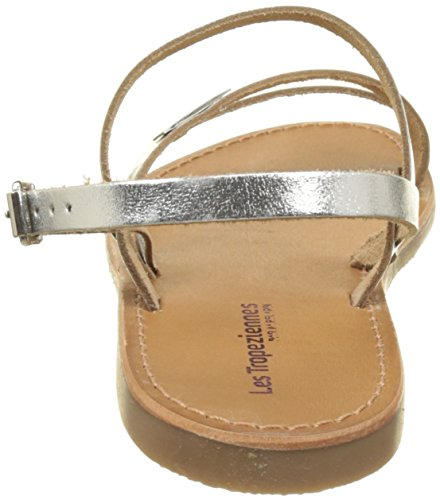 Sling Par Argent Baden Women's M Belarbi argent Back Les Tropéziennes Sandals 5wqAFY