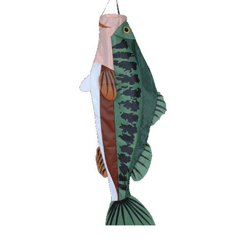 Premier Kites 52 Inch Large Mouth Bass Windsock