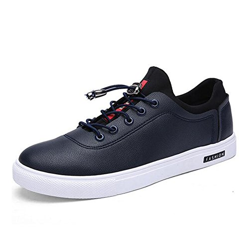 Casual Shoes Sneakers Spring Color PU HUAN Blue Black Men's White Size Comfort 40 Summer 0x5wxBYq