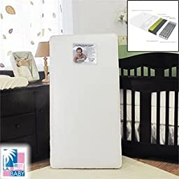 L.A. Baby Double Comfort 2-in-1 Orthopedic Crib Mattress Infant to Toddler Compatible