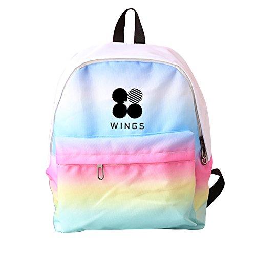 Discovery Bolso al hombro para hombre Wing-rainbow