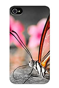 Iphone 4/4s Case - Tpu Case Protective For Iphone 4/4s- Buerfly Case For Thanksgiving's Gift