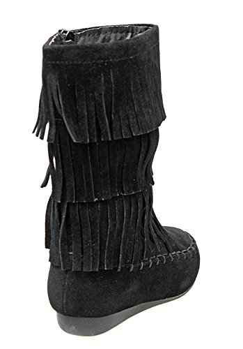 Image of Forever Candice-48K Child Girl Snow Boots Mid Calf Comfortable Boots