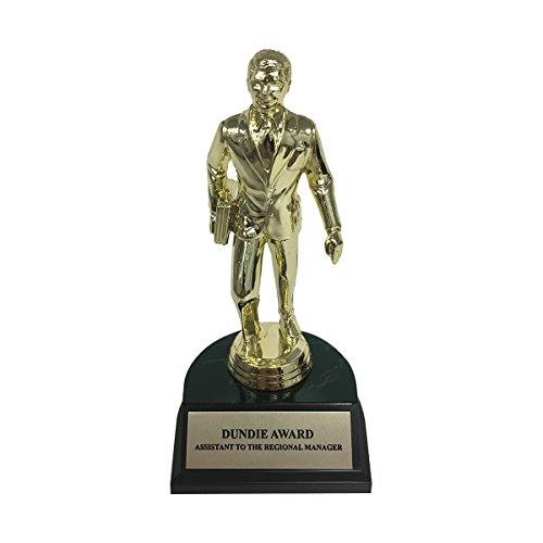 Assistant To The Regional Manager Dundie Award Trophy Dwight Schrute Office Gift]()
